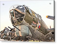 B-17 Texas Raiders Acrylic Print by Michael Daniels