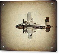 B-25j    Miss Mitchell Acrylic Print