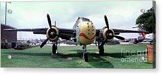 B-25j Mary Alice II, Mitchell Bomber Acrylic Print by Wernher Krutein