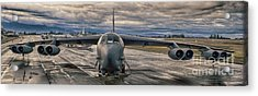 Acrylic Print featuring the photograph B-52 by Jim  Hatch