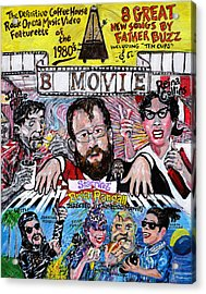 B Movie Acrylic Print