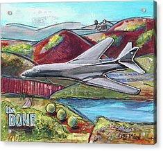 B1-the Bone Acrylic Print