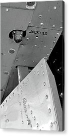 B17 Jack Pad Acrylic Print by Larry Darnell
