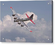 Acrylic Print featuring the photograph B17 - The Last Lap by Pat Speirs