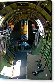 b17 Tunnel of Love Acrylic Print by Larry Darnell