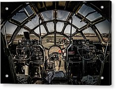 B29 Superfortress Fifi Cockpit View Acrylic Print