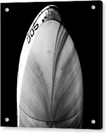 Acrylic Print featuring the photograph B52 Belly by Rand