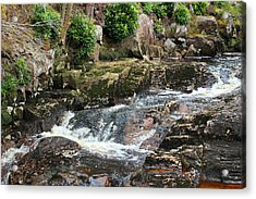 Babbling Brook Acrylic Print by Tin Lid Photography