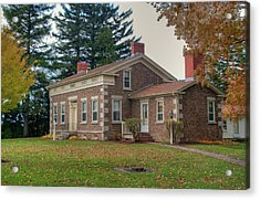 Acrylic Print featuring the photograph Babcock House Autumn 13937 by Guy Whiteley
