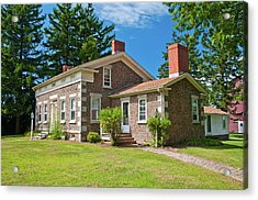 Acrylic Print featuring the photograph Babcock House Museum 2250 by Guy Whiteley
