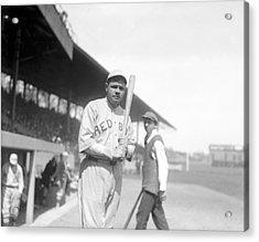 Babe Ruth, 1919 Acrylic Print by Everett