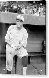 Babe Ruth, 1921 Acrylic Print by Everett