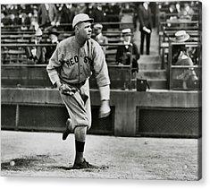 Babe Ruth - Pitcher Boston Red Sox  1915 Acrylic Print