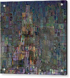 Babel Acrylic Print by Andy  Mercer