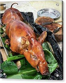 Babi Guling - Suckling Pig Acrylic Print by Arya Swadharma