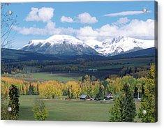 Babine Range-fall View Acrylic Print