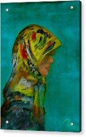 Babooshka  Acrylic Print