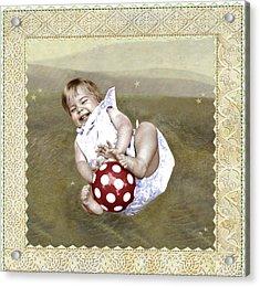 Baby Ball Acrylic Print