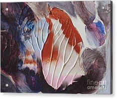 Baby Bird Acrylic Print by Lori Kingston
