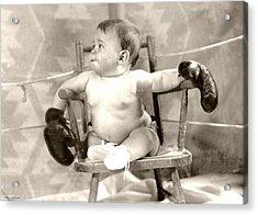 Baby Boxer Acrylic Print