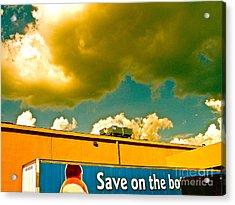 Baby Cloud Truck Acrylic Print by Chuck Taylor