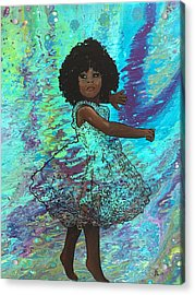 Baby Dancer Remix  Acrylic Print