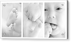 Baby Details Acrylic Print