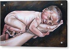 Baby Acrylic Print by Ilse Kleyn