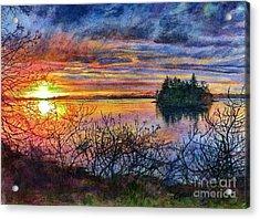 Baby Island Glory Acrylic Print