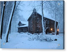 Baby Its Cold Outside Acrylic Print by Kristin Elmquist