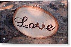 Baby Love Acrylic Print by Dakota Sage