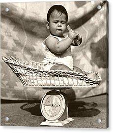 Baby Scale Acrylic Print