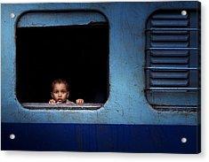 Baby Trip Acrylic Print by Nasser Al-nasser