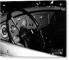 Acrylic Print featuring the photograph Baby You Can Drive My Car I by RC deWinter