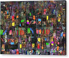 Babylon Acrylic Print by Andy  Mercer