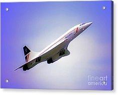 Bac Concorde  Acrylic Print