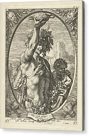 Bacchus God Of Ectasy Acrylic Print by R Muirhead Art