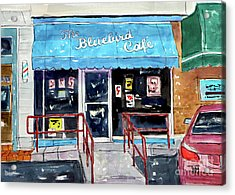 Back At The Bluebird Acrylic Print by Tim Ross