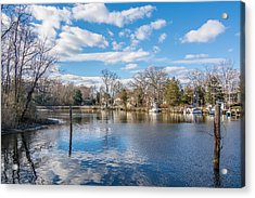 Acrylic Print featuring the photograph Back Creek by Charles Kraus