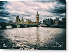 Back In London Acrylic Print by Alessandro Giorgi Art Photography