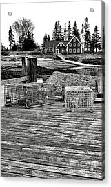 Back In Maine Acrylic Print by Olivier Le Queinec