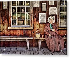 Back In The Days Acrylic Print by Evelina Kremsdorf