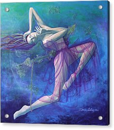 Back In Time Acrylic Print by Dorina  Costras