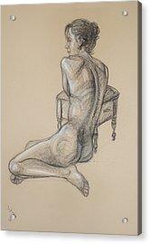 Back Nude 2 Acrylic Print