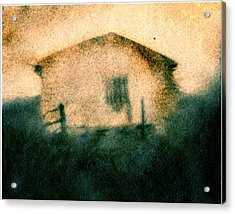 Back Of Ther Back Acrylic Print by Diana Ludwig