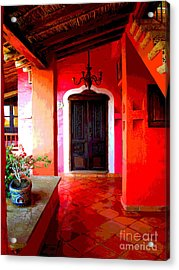 Back Passage By Darian Day Acrylic Print by Mexicolors Art Photography