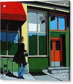 Back Street Grill - Urban Art Acrylic Print