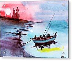 Back To Pavilion 2 Acrylic Print by Anil Nene