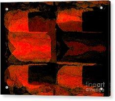 Colour Choice Stone Abstract Acrylic Print