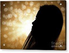 Backlight Acrylic Print by Alessandro Giorgi Art Photography